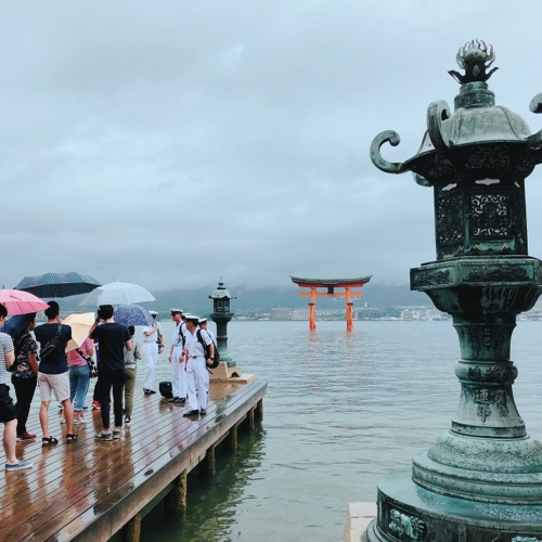 女ふたり旅、広島ツアー